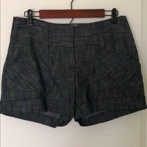 Maurices Dark blue Denim Shorts sz 3/4